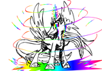 Vent Art Rainbow Storm by Lightning-Bliss
