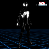 Marvel Heroes - Spider-Man [Symbiote] by CaxUchiha