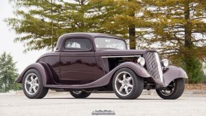 1934 Ford Hot Rod by joerayphoto