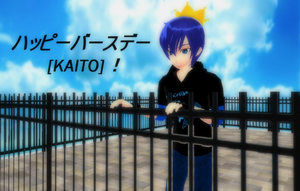 .:Another KAITO Birthday Pic:. by TwilightMarth