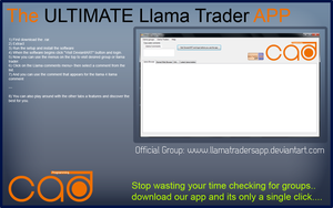 The Ultimate Llama trader APP by UJz