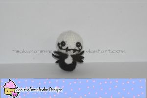Jack Skellington Amigurmi by sakura-sweetcake