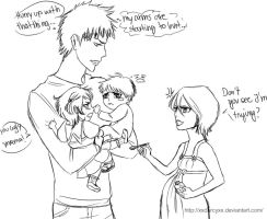 Ichiruki family problems by DanArcane