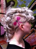 Bow hairtattoo by AngeLee-Loo