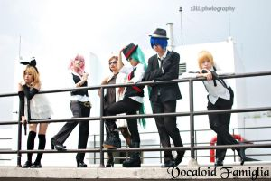 Vocaloid Famiglia by seseostara