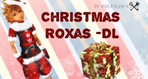 Christmas Roxas +DL by KHStyler-chan