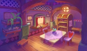 kitchen by lepyoshka