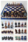 Doctor Who Chess set #2 by EldalinSkywalker