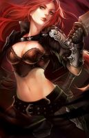 LoL: Katarina the Sinister Blade by ippus