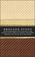 Brocade Study Texture Set by dungeonesque