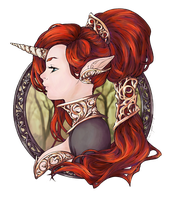 Iridae Nouveau - Coloring Practice by Quilava314