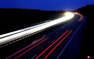 Autobahn Lights by BeJay