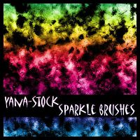 Sparkle Brushes -- PSD Stamps by yana-stock