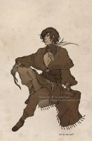 Sketch commission: Efrayim by Luciana-Lu