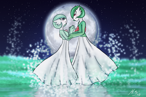 Gardevoir Romance by The-Clockwork-Crow