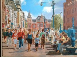 Heart of Amsterdam by YideZhou