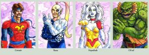 Sketchcard StarJammers Collection by fedde