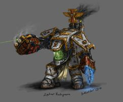 GreyKnight dreadnought var. by DarkLostSoul86