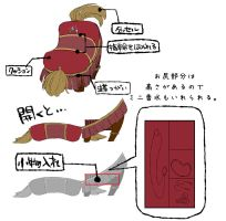 Beauty and the Beast Footrest  accessory case by Umintsu