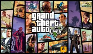 GTA V - BoxArt Wallpaper by Link-LeoB