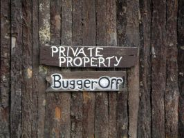 Private Property by Sognatore-Crepuscola