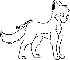 .:Cat Lineart:. by ShayminLover101