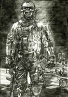 Battlefield 3 Soldier by Chimaera94