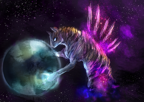 MLP space golem pony auction 23 CLOSED by ElkaArt