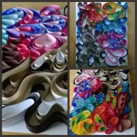 Quilling with 1 inch  strips by Jenni1361