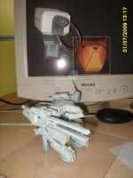 Cat Metal Gear Rex papercraft by NothinToSay