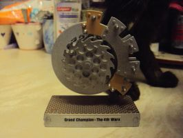 Robot Wars - Grand Champion 4th Wars Trophy Toy by RedDevilDazzy2007