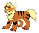 Kaylithe Used Fire Fang! by wolfdog127