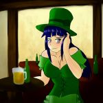 Saint Patrick's Day With Hinata by Jediahndii