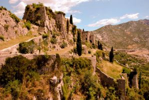 Klis Fortress by ReneHaan