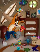 Crash at Play by Neon-BaNdIcOoT