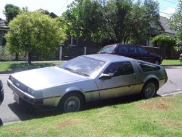 My new DeLorean :D by ChevyRW
