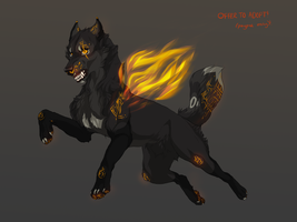 Offer to adopt! WOLF ADOPTABLE by Rinermai