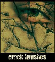 Crack Brushes by greenaleydis-stock