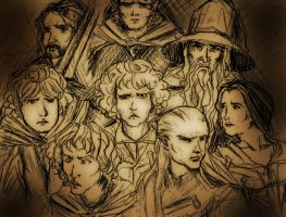 LotR Group by Mcroverlord