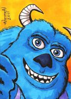 Sully Sketch Card by Fellhauer