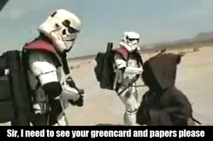 Imperial Immigration Enforcement Stormtroopers by ISeeTheLattice