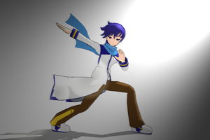 My First Pose on MMD by ryan-kun12