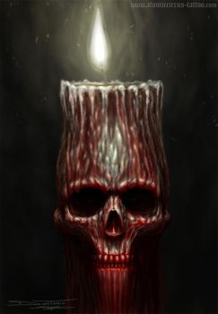 death candle by AtomiccircuS