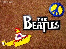 Lego Beatles by The-Anglophile