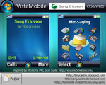 VistaMobile for K750+W800 by bnycastro