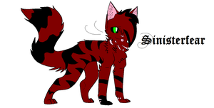 Sinisterfear ~ Deputy of FallenClan by Massacres-Depression