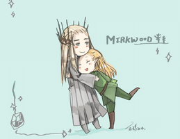 Mirkwood cuties! by vampiry