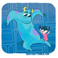 Sully and Boo Again by reed682