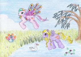 Ploomette and Lily Blossom by NormaLeeInsane