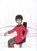 Lt. Uhura by anotherminerva